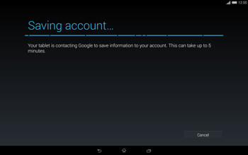 Sony Xperia Tablet Z2 LTE - Applications - Setting up the application store - Step 20