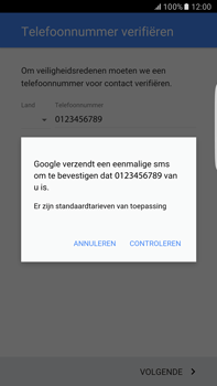 Samsung Samsung Galaxy S6 Edge+ (Android M) - apps - account instellen - stap 9