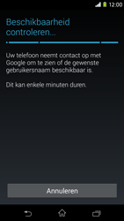 Sony Xperia M2 - apps - account instellen - stap 9