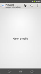 Sony Xperia M2 (D2303) - E-mail - Handmatig instellen - Stap 4