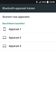HTC U11 - Contactgegevens overzetten - delen via Bluetooth - Stap 11