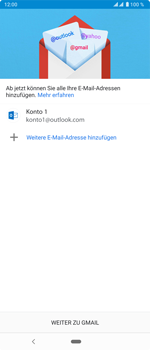 Sony Xperia 5 - E-Mail - 032c. Email wizard - Outlook - Schritt 13