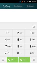 Huawei Y3 - Voicemail - Handmatig instellen - Stap 3