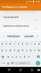Acer Liquid Z320 - E-mail - configuration manuelle - Étape 13