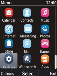Nokia C2-05 - Internet - Manual configuration - Step 3