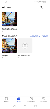 Huawei P30 lite - Photos, vidéos, musique - Envoyer une photo via Bluetooth - Étape 4