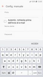 Samsung Galaxy S7 Edge - E-mail - configurazione manuale - Fase 14