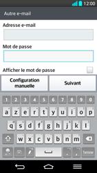LG G2 - E-mail - Configuration manuelle - Étape 7