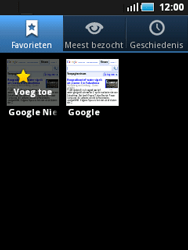 Samsung S5570 Galaxy Mini - Internet - internetten - Stap 8