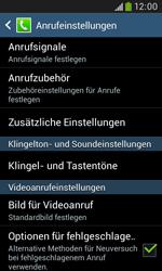 Samsung I9060 Galaxy Grand Neo - Anrufe - Rufumleitungen setzen und löschen - Schritt 6