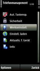 Nokia 5230 - Fehlerbehebung - Handy zurücksetzen - 8 / 10