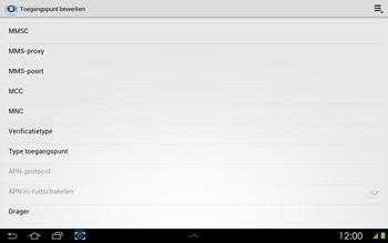 Samsung P5100 Galaxy Tab 2 10-1 - MMS - handmatig instellen - Stap 11
