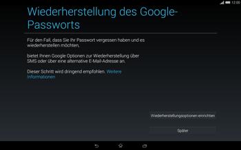 Sony Xperia Tablet Z2 LTE - Apps - Einrichten des App Stores - Schritt 14