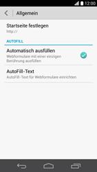 Huawei Ascend P6 LTE - Internet - Manuelle Konfiguration - Schritt 25
