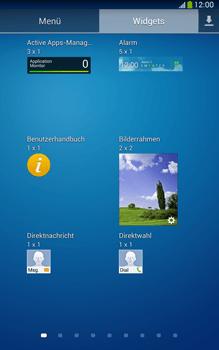 Samsung Galaxy Tab 3 8-0 LTE - Startanleitung - Installieren von Widgets und Apps auf der Startseite - Schritt 7