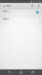 Sony D6603 Xperia Z3 - Internet - Handmatig instellen - Stap 16