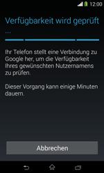 Sony Xperia E1 - Apps - Konto anlegen und einrichten - 10 / 23