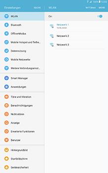 Samsung Galaxy Tab A 10-1 - WLAN - Manuelle Konfiguration - Schritt 7