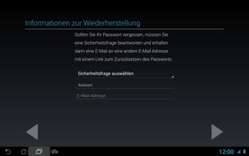 Asus Padfone 2 - Apps - Konto anlegen und einrichten - Schritt 9
