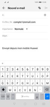 Huawei Y5 (2019) - E-mail - envoyer un e-mail - Étape 4