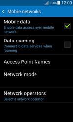 Samsung G357 Galaxy Ace 4 - Internet - Disable data roaming - Step 7