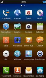 Samsung Wave - Fehlerbehebung - Handy zurücksetzen - 5 / 10