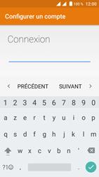 Crosscall Trekker M1 Core - E-mails - Ajouter ou modifier un compte e-mail - Étape 9