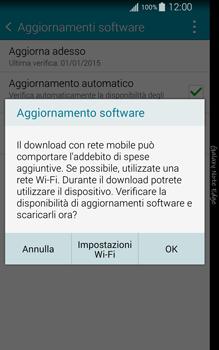 Samsung Galaxy Note Edge - Software - Installazione degli aggiornamenti software - Fase 8