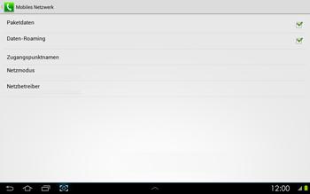 Samsung P5100 Galaxy Tab 2 10-1 - Ausland - Auslandskosten vermeiden - Schritt 8