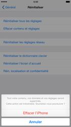 Apple iPhone 6 Plus iOS 8 - Téléphone mobile - Réinitialisation de la configuration d