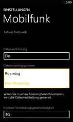Nokia Lumia 820 LTE - Ausland - Im Ausland surfen – Datenroaming - Schritt 8