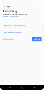 Samsung Galaxy S9 Plus - Apps - Konto anlegen und einrichten - Schritt 4