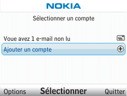 Nokia C3-00 - E-mail - Configuration manuelle - Étape 4