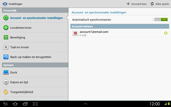 Samsung P5100 Galaxy Tab 2 10-1 - E-mail - Instellingen KPNMail controleren - Stap 7