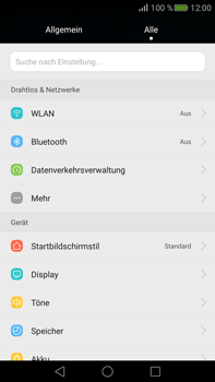 Huawei Mate S - Ausland - Auslandskosten vermeiden - 1 / 1