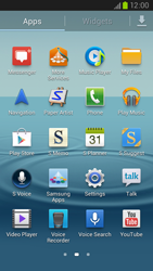 Samsung Galaxy S III LTE - Applications - Setting up the application store - Step 3