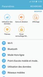 Samsung Samsung G920 Galaxy S6 (Android M) - Wi-Fi - Accéder au réseau Wi-Fi - Étape 4