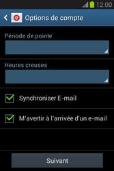 Samsung Galaxy Fame Lite - E-mail - configuration manuelle - Étape 19