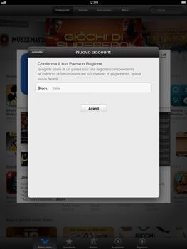 Apple iPad mini - Applicazioni - Configurazione del negozio applicazioni - Fase 8