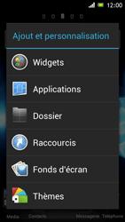 Sony Xperia J - Prise en main - Installation de widgets et d