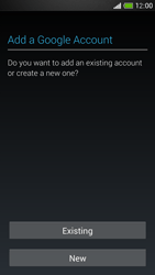 HTC One Mini - Applications - Setting up the application store - Step 4