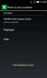 Alcatel One Touch Pop C3 - Logiciels - Installation de mises à jour - Étape 8