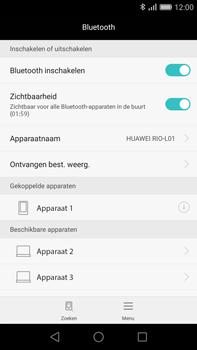 Huawei G8 - Bluetooth - Koppelen met ander apparaat - Stap 7