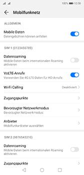 Huawei P20 - Android Pie - Netzwerk - Manuelle Netzwerkwahl - Schritt 5