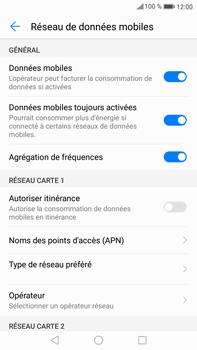 Huawei Mate 9 - Internet et roaming de données - Désactivation du roaming de données - Étape 6