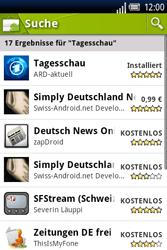 Sony Ericsson Xperia X8 - Apps - Herunterladen - 9 / 22