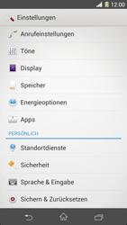 Sony Xperia Z1 - Apps - Eine App deinstallieren - Schritt 4