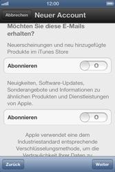 Apple iPhone 4S - Apps - Einrichten des App Stores - Schritt 12