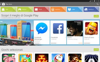 Samsung T805 Galaxy Tab S - Applicazioni - Installazione delle applicazioni - Fase 4