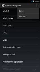 Wiko jimmy - MMS - Manual configuration - Step 14